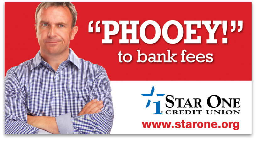 Star One Credit Union Billboard