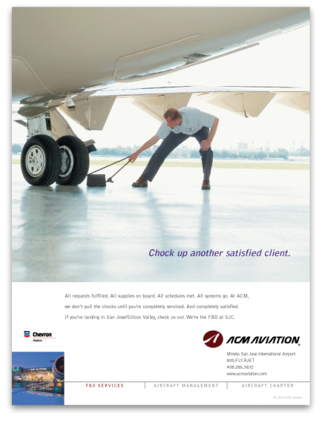 ACM Aviation Chock Up