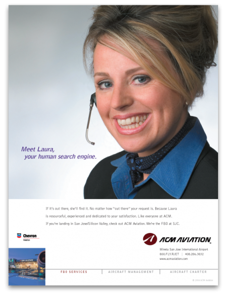 ACM Aviation Meet Laura