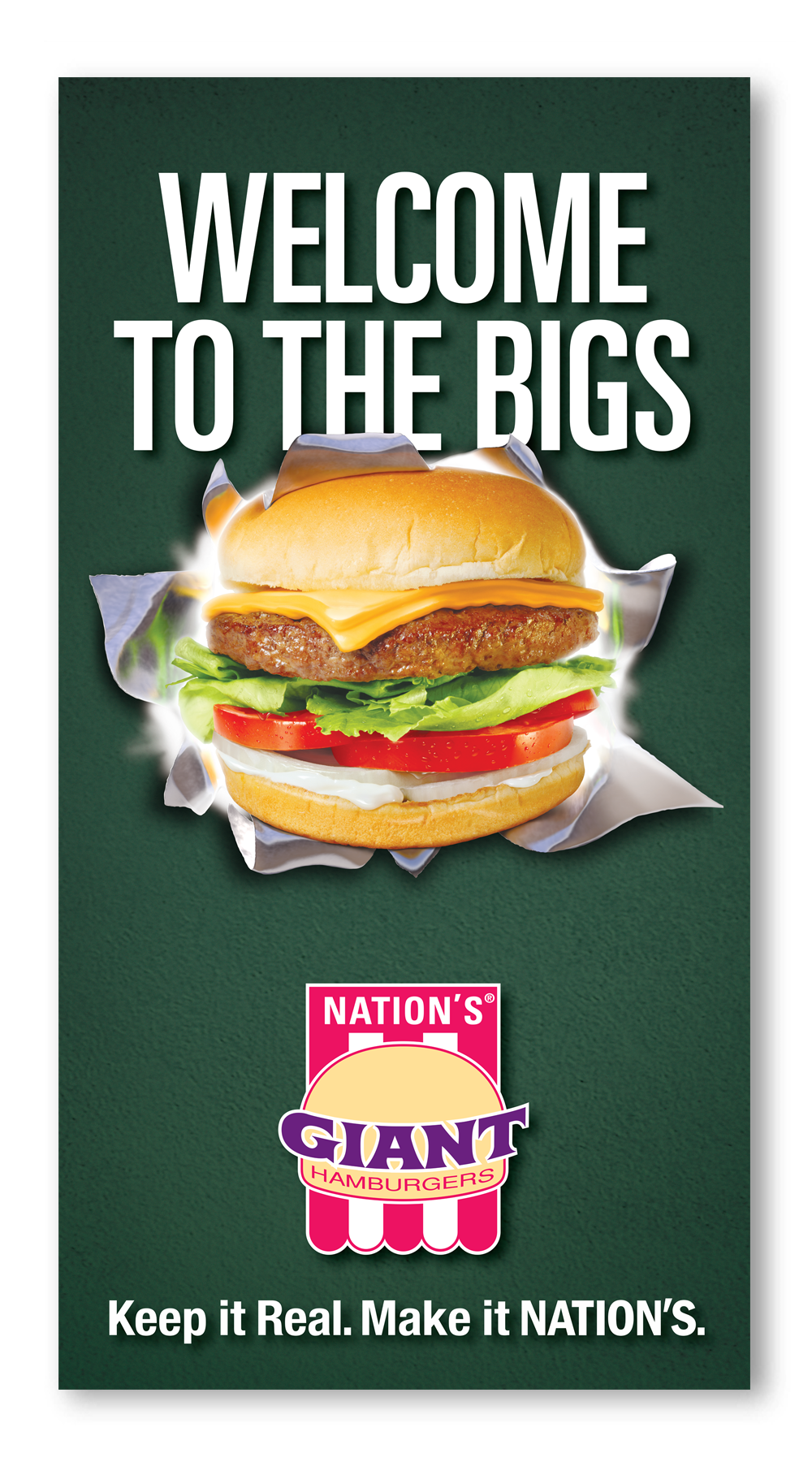 Nations Hamburgers Welcome to the Bigs