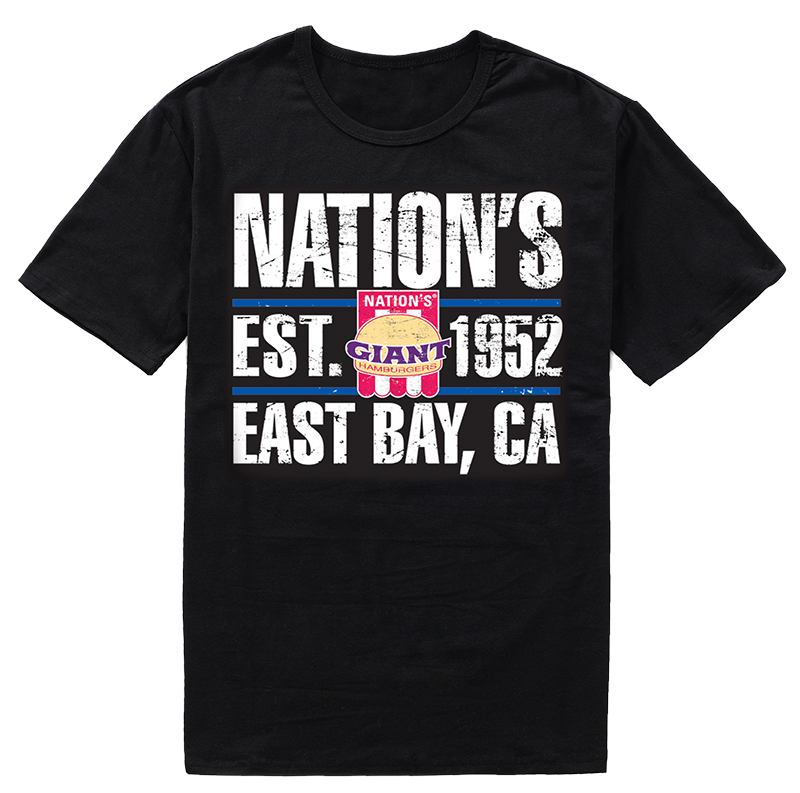 Nations Giant Hamburgers T-Shirt