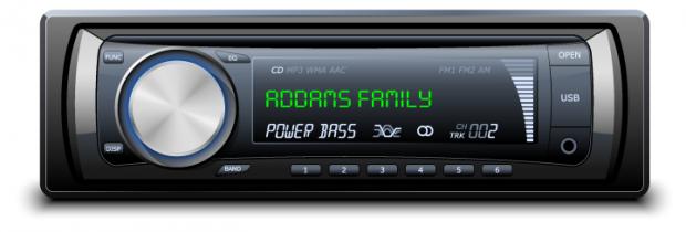 Radio Advertisement Winchester Mystery Addams Family