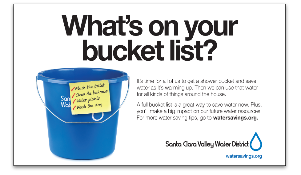 Santa Clara Valley Water District Bucket List