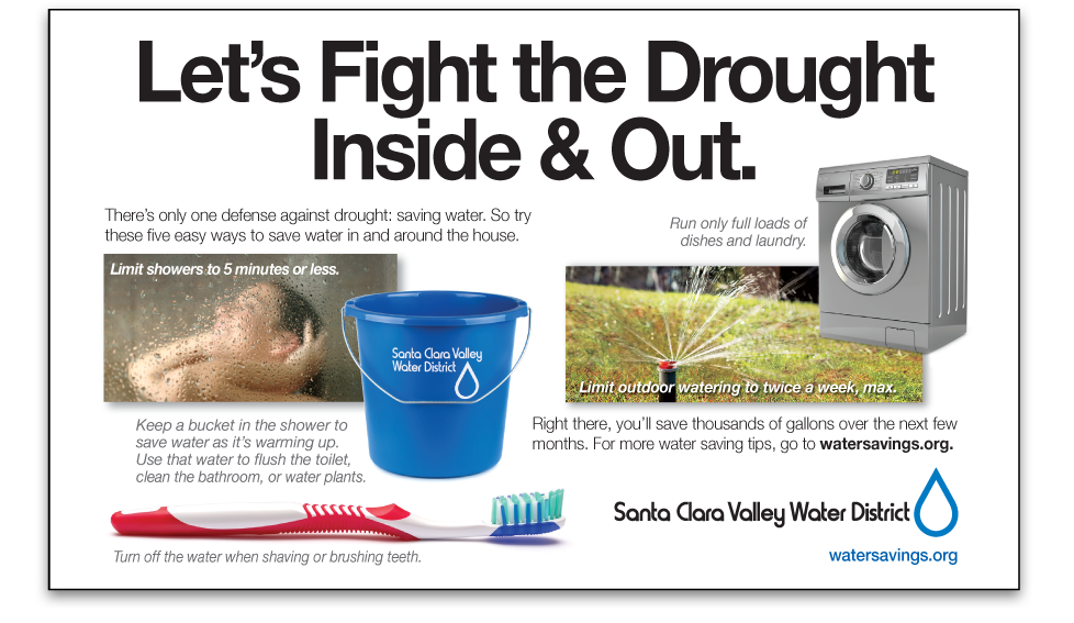 Santa Clara Valley Water District Fight the Drought