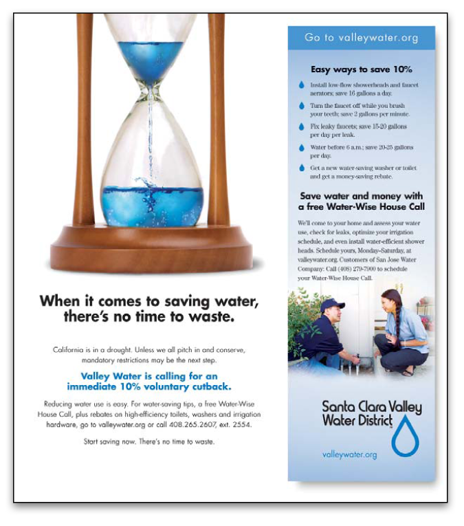 Santa Clara Valley Water District - Hourglass
