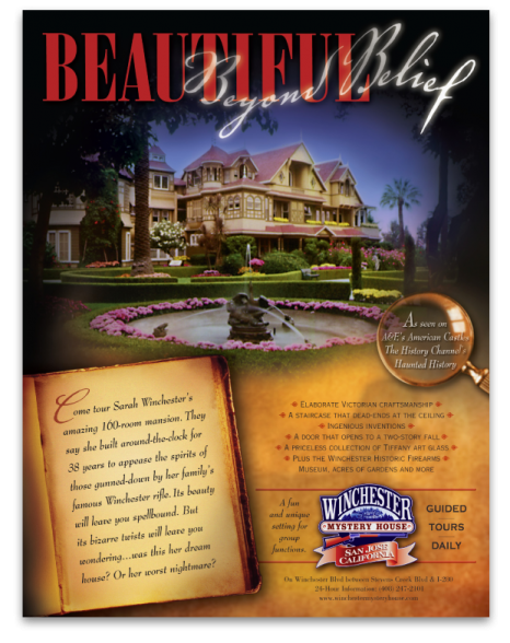 Winchester Mystery House Beautiful